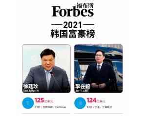 韩国首富换人了?首富身价约800亿
